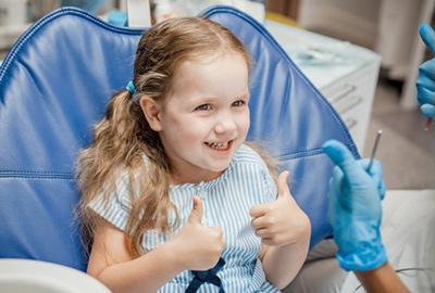 Лікування зубів у дітей ціна